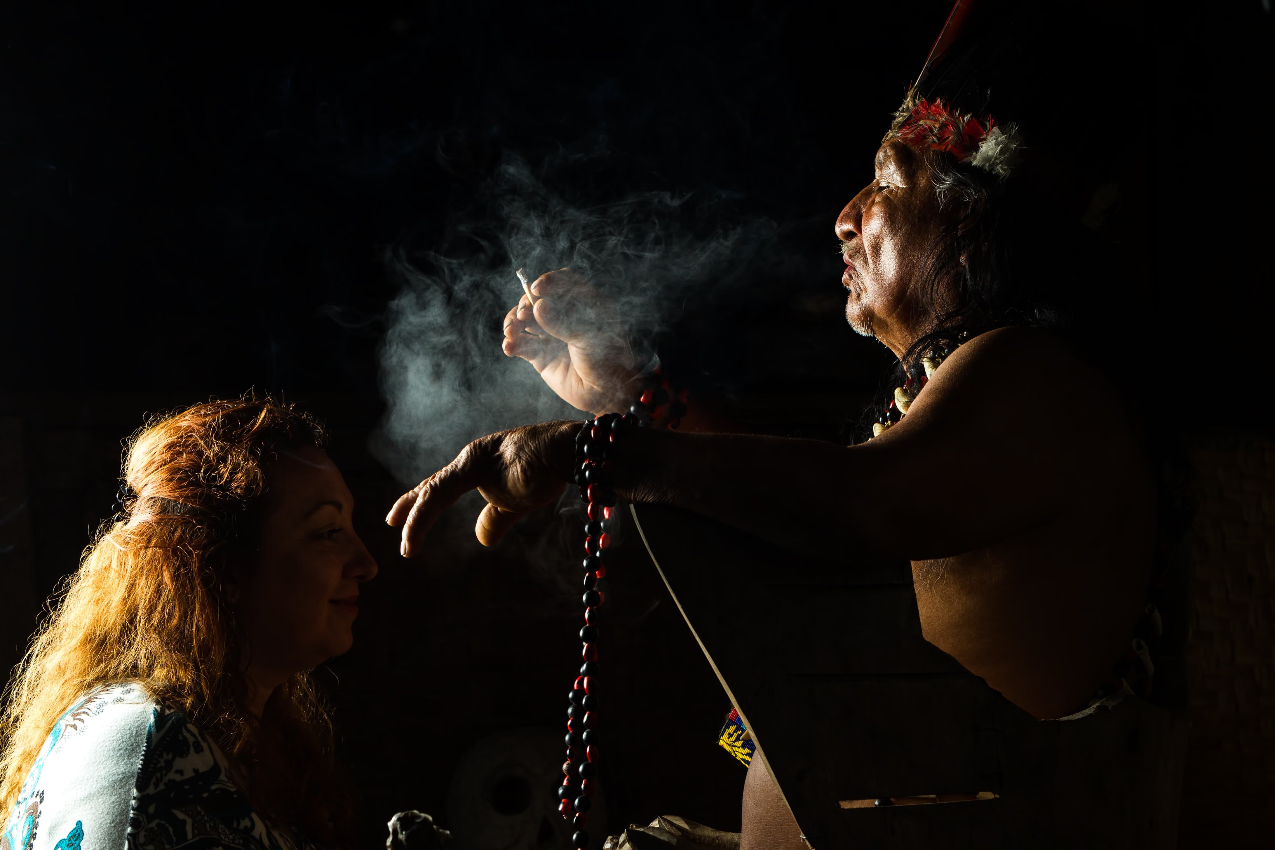 Ayahuasca-ceremony