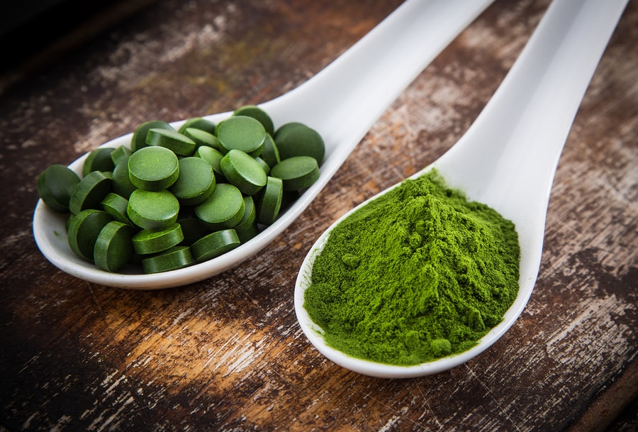 Chlorella and Barley