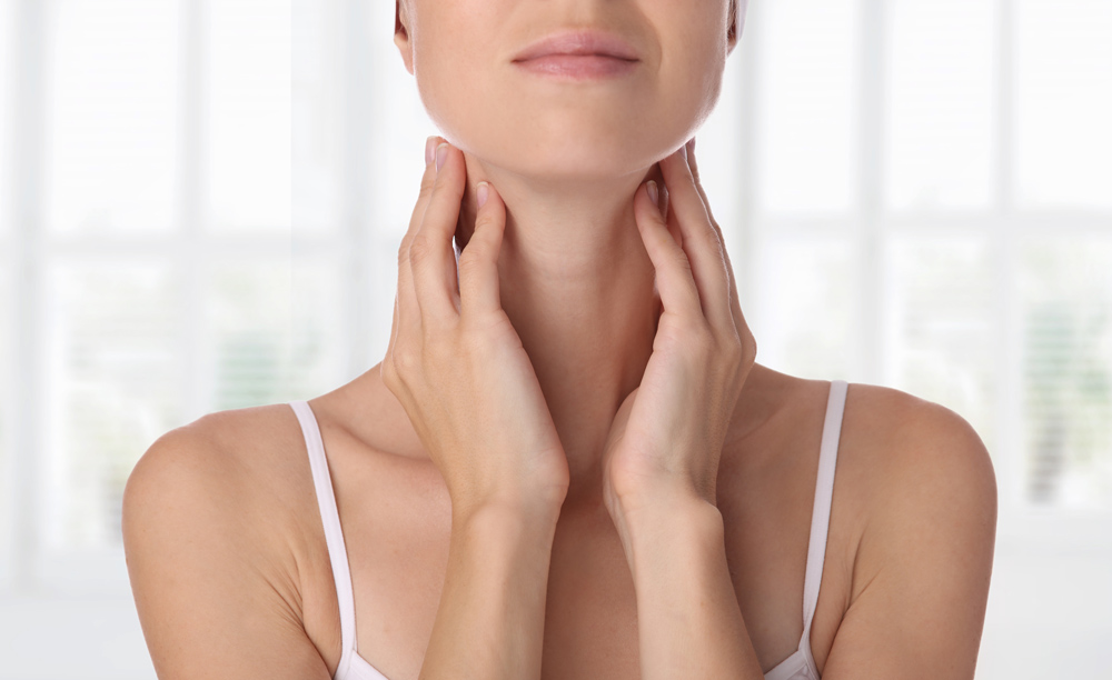 Woman's neck