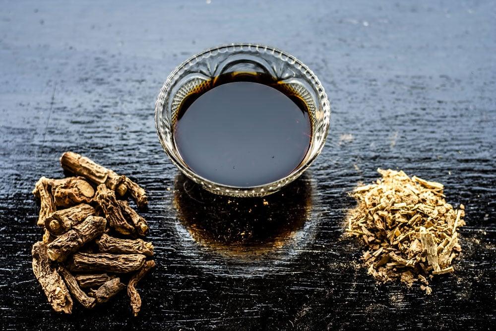 Sarsaparilla drink