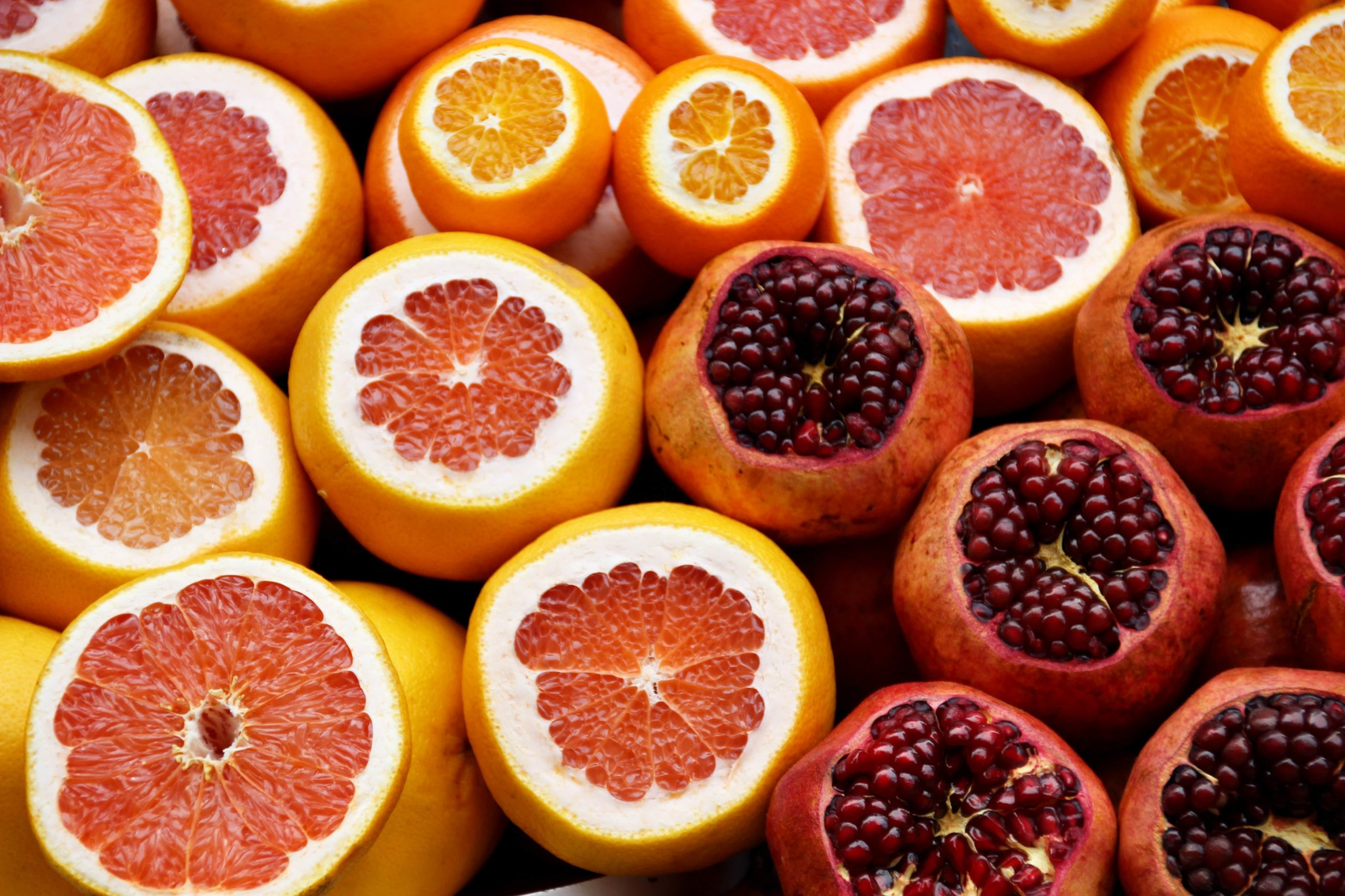Citrus fruits are a source of vitamin C